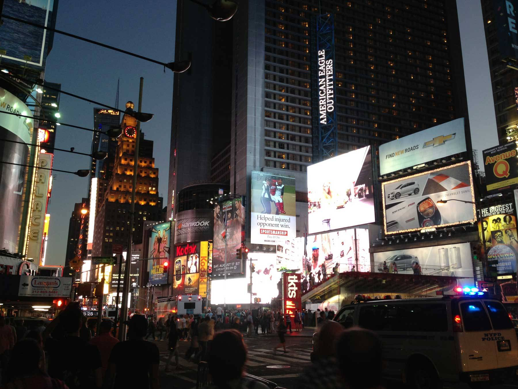 Times Square street