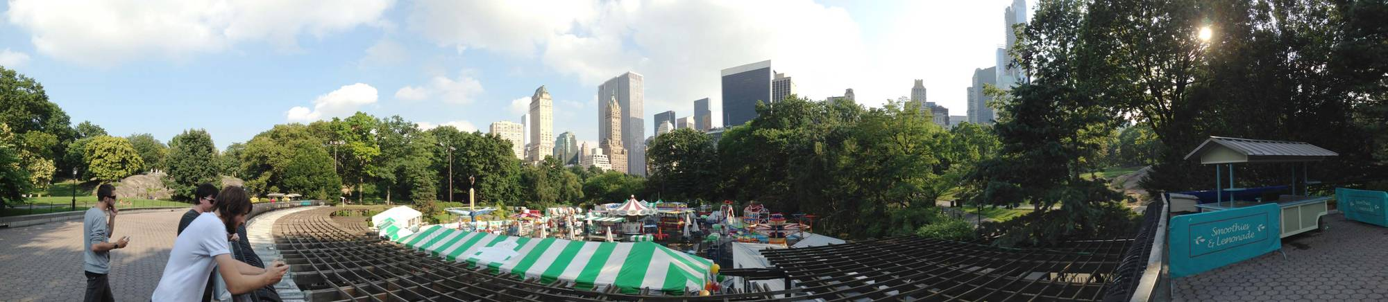 Panorama of Central Park